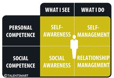 diagram of emotional intelligence